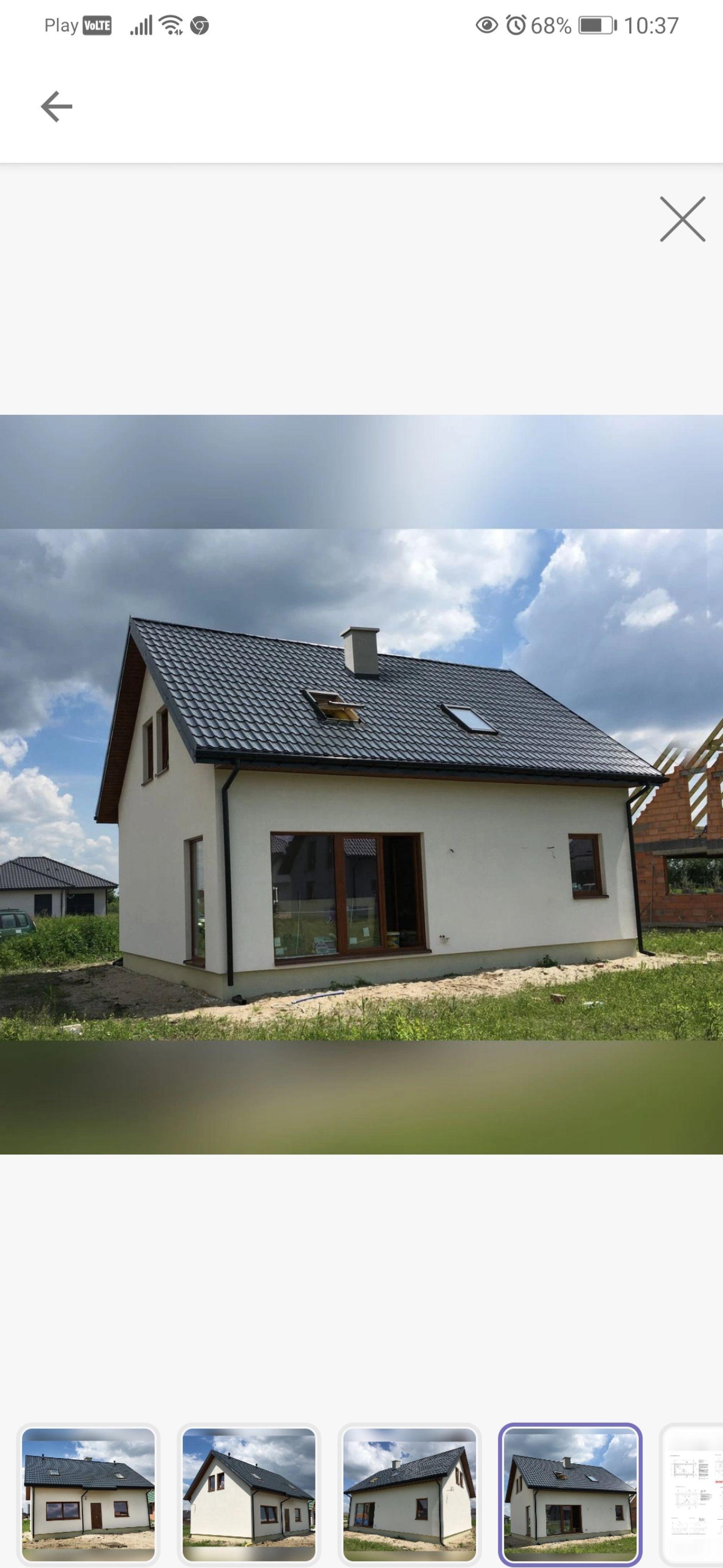 Budowa domku 35-38 M2 na ROD Wola Filipowska
